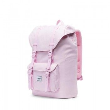 Mochila Herschel Little America Mid Vol. (17L) -  Pink Lady Crosshatch