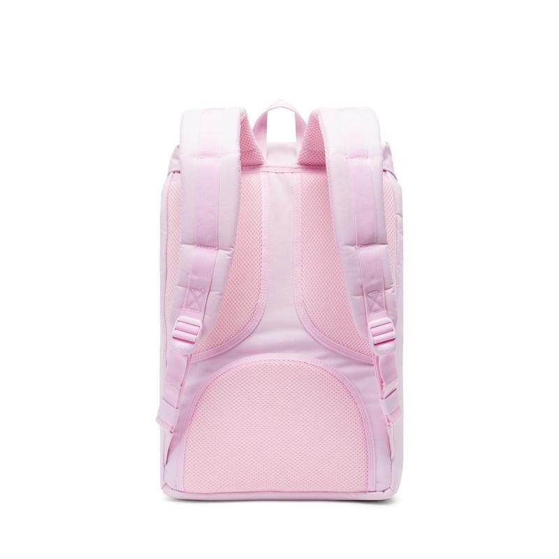 Mochila Herschel Little America Mid Vol. (17L) -  Pink Lady Crosshatch