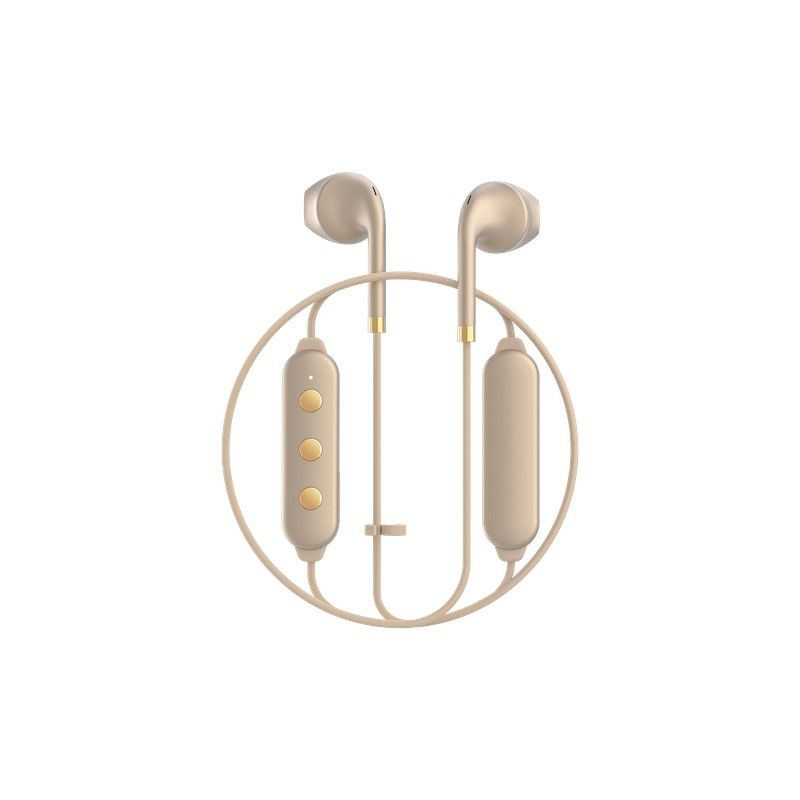 Auriculares Happy Plugs Wireless II - Matte Gold