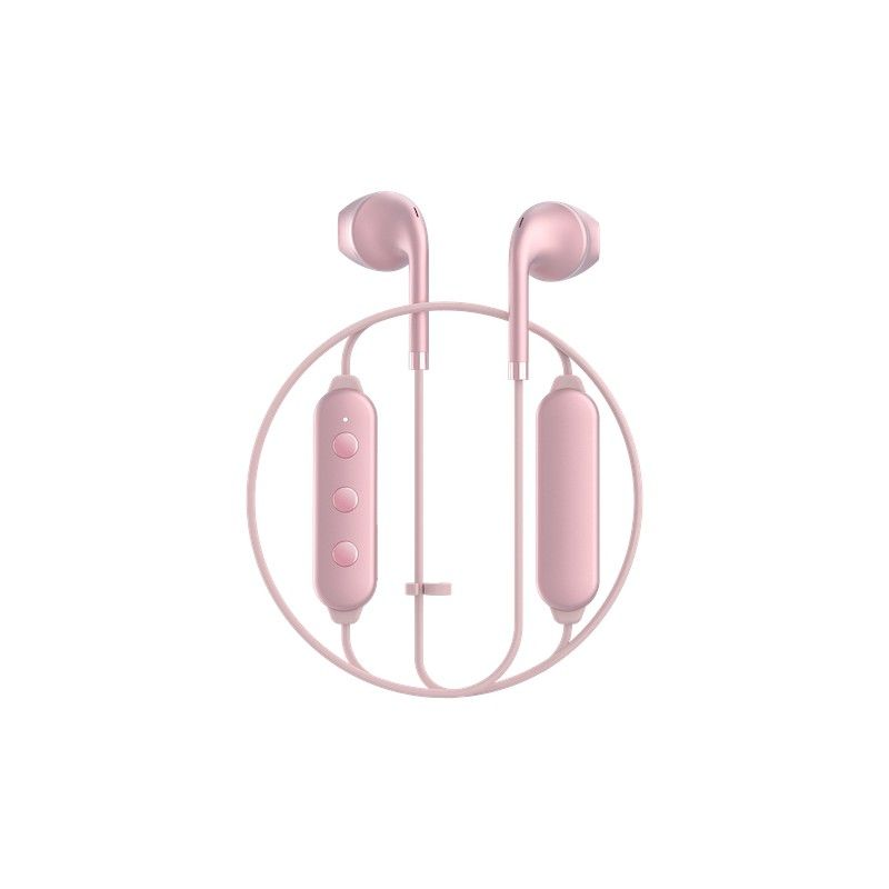 Auriculares Happy Plugs Wireless II - Pink Gold