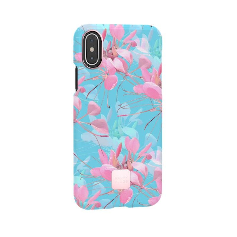 Capa para iPhone XS Happy Plugs - Botanica Exotica
