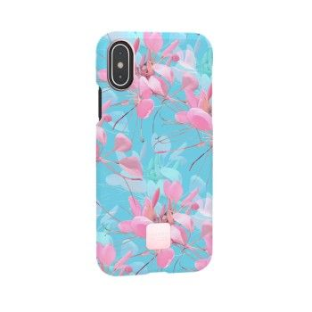 Capa para iPhone XS Happy Plugs - Botanica Exotica