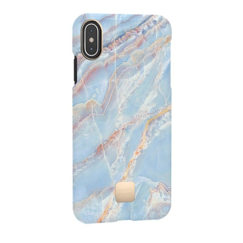 Capa para iPhone XS Max Happy Plugs - Blue Quartz