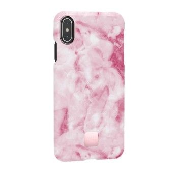 Capa para iPhone XS Max Happy Plugs - Pink Marble