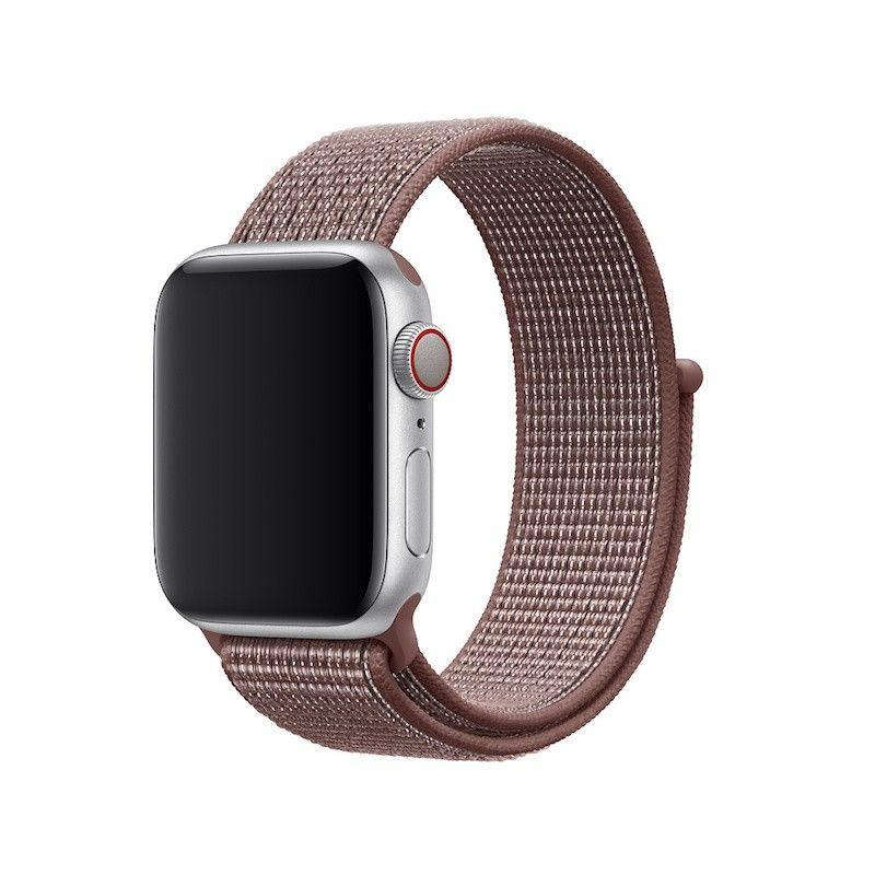 Bracelete Loop desportiva Nike para Apple Watch (40/38 mm) - Malva-névoa