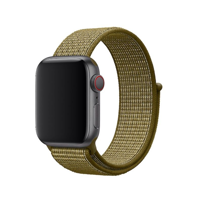 Bracelete Loop desportiva Nike para Apple Watch (40/38 mm) - Verde-oliva