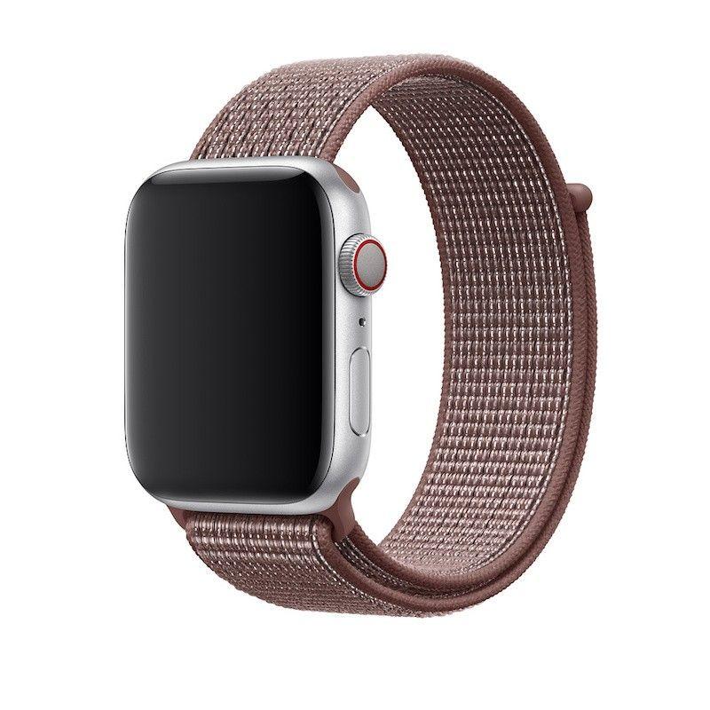 Bracelete Loop desportiva Nike para Apple Watch (44/42 mm) - Malva-névoa