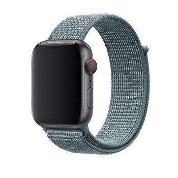 Bracelete Loop desportiva Nike para Apple Watch (44/42 mm) - Turquesa-claro