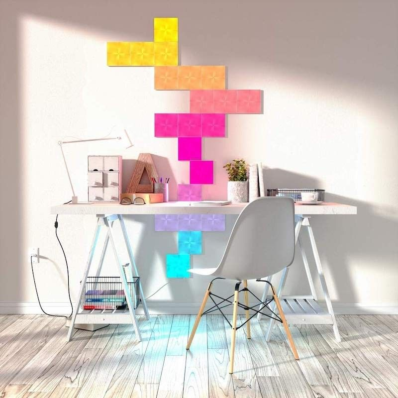 Nanoleaf Canvas Smarter Kit (Controller e 9 paineis)