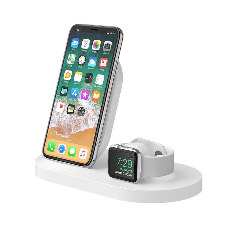Carregador de Watch e iPhone Belkin Boost Up  - Branco