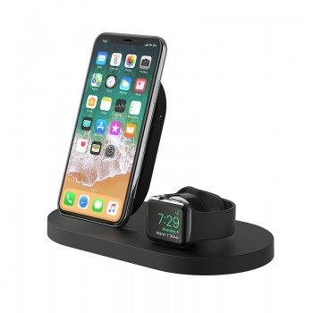 Carregador de Watch e iPhone Belkin Boost Up  - Preto