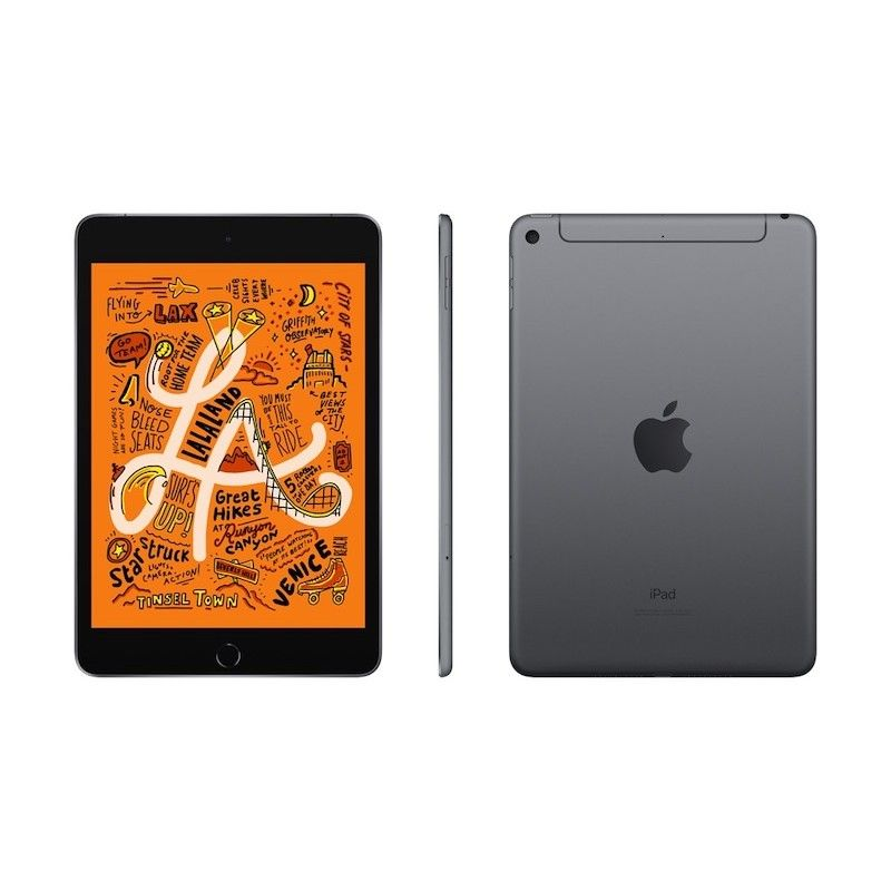iPad mini Wi-Fi + Cellular 64GB - Cinzento Sideral