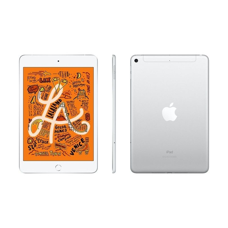 iPad mini Wi-Fi + Cellular 64GB - Prateado