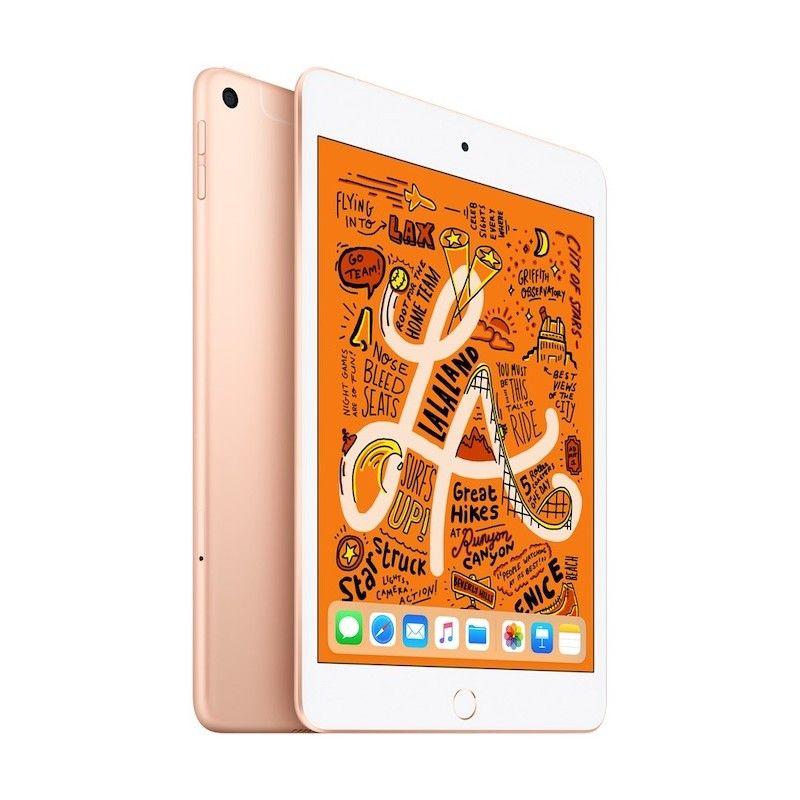 iPad mini Wi-Fi + Cellular 256GB - Dourado