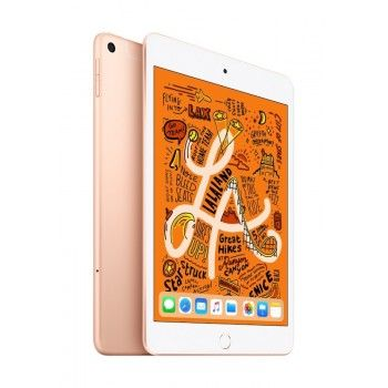 iPad mini Wi-Fi + Cellular 256GB - Dourado