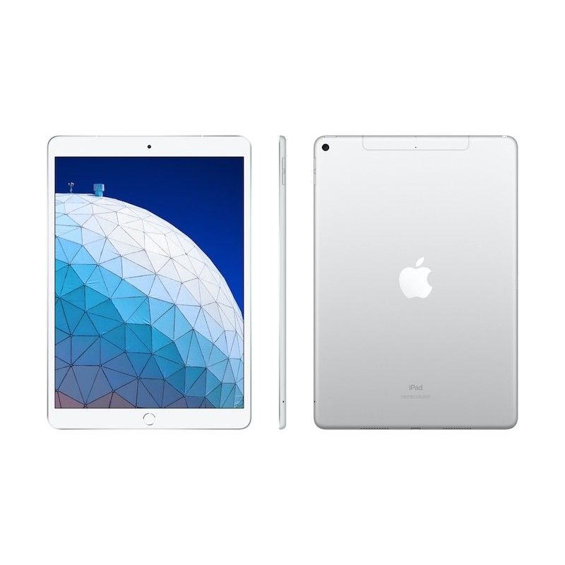 "iPad Air 10.5"" Wi-Fi + Cellular 256GB - Prateado"