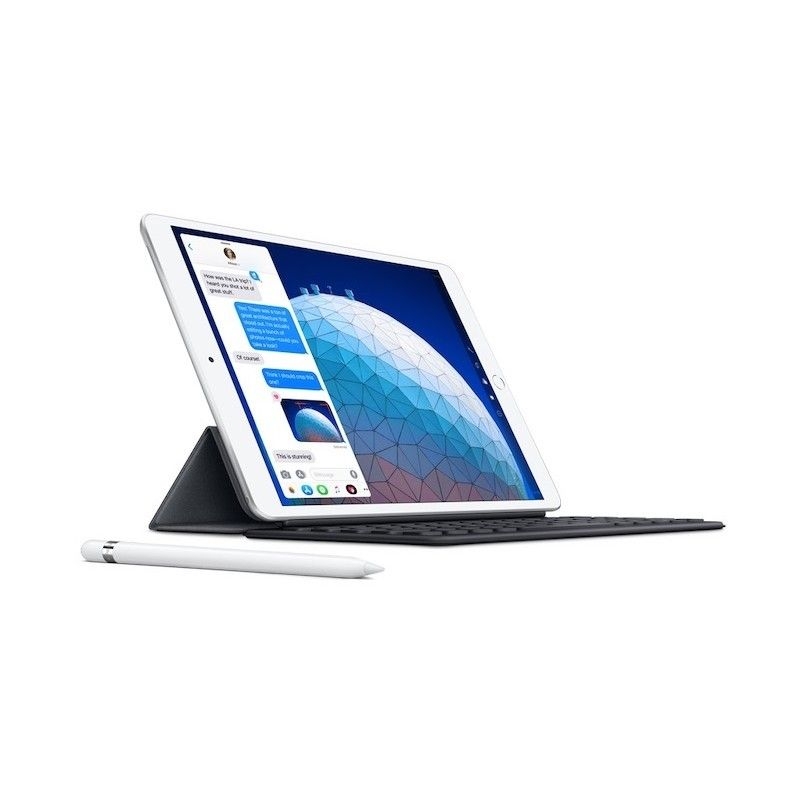 "iPadAir 10.5"" Wi-Fi + Cellular 256GB - Prateado"