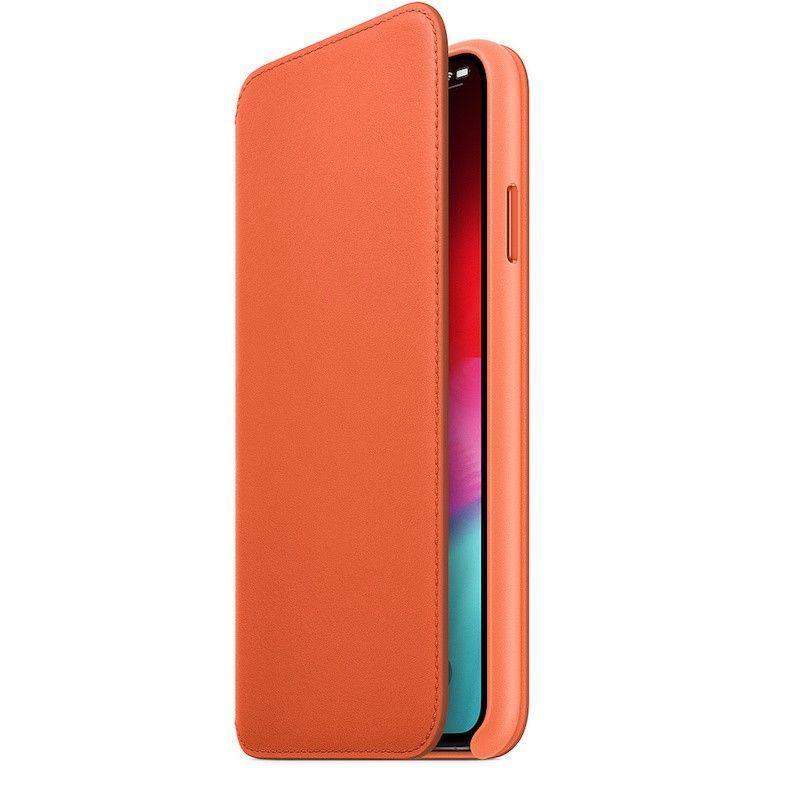 Capa Folio em pele para iPhone XS Max - Pôr do Sol