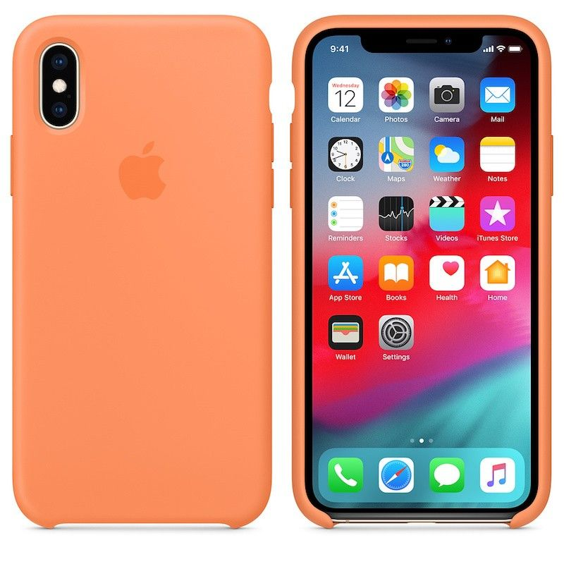 Capa para iPhone XS em silicone - Papaia