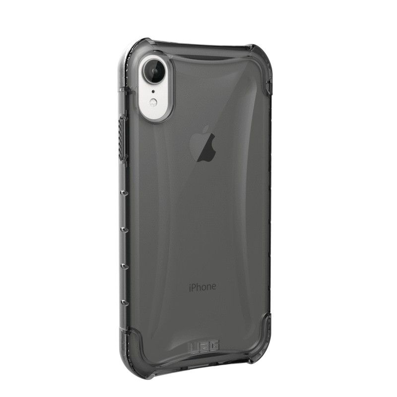 Capa para iPhone XR UAG Plyo - Cinza transparente