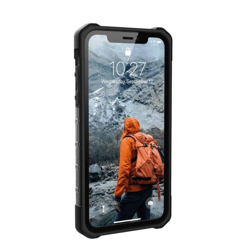Capa para iPhone XR UAG Plasma - Cinza transparente
