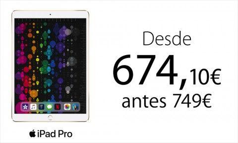 iPad Pro 674€