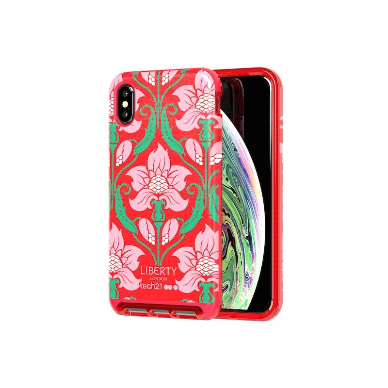 Capa para iPhone XS Max Tech21 Luxe Liberty London- Azelia