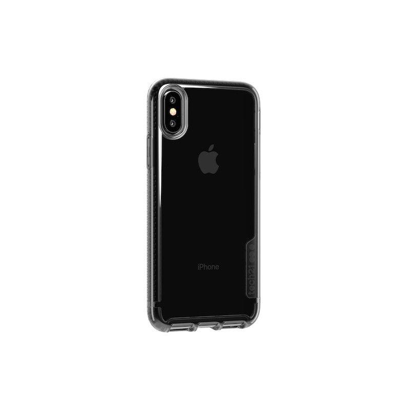 Capa Tech21 Pure Tint para iPhone XS - Cinza