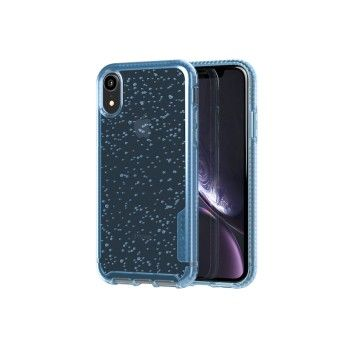 Capa Tech21 para iPhone XR Pure Soda - Ice Blue