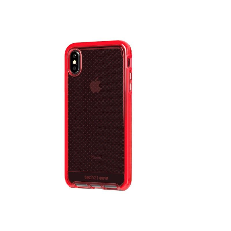 Capa Tech21 Evo Check para iPhone XS Max - Vermelha
