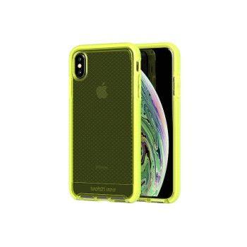 Capa Tech21 Evo Check para iPhone XS Max - Neon Yellow