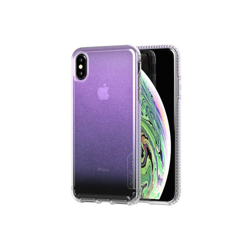 Capa Tech21 Pure Shimmer para iPhone XS Max - Rosa