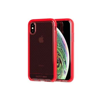 Capa Tech21 Evo Check para iPhone XS - Vermelha