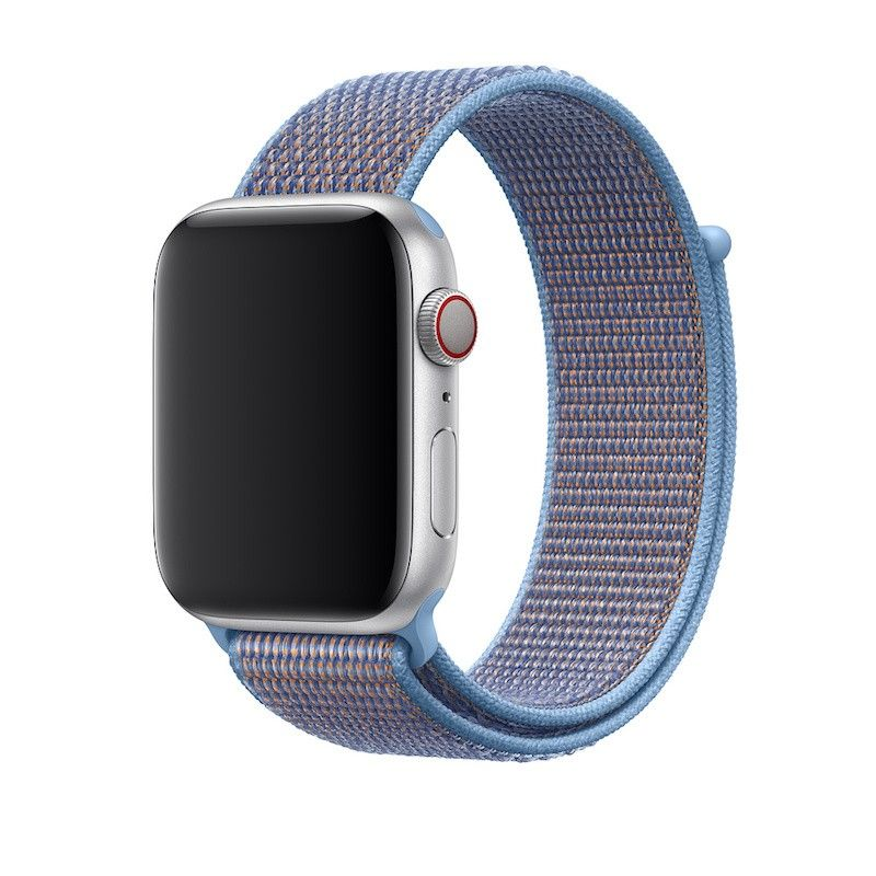 Bracelete Loop desportiva para Apple Watch (44/42 mm) - Cerúleo