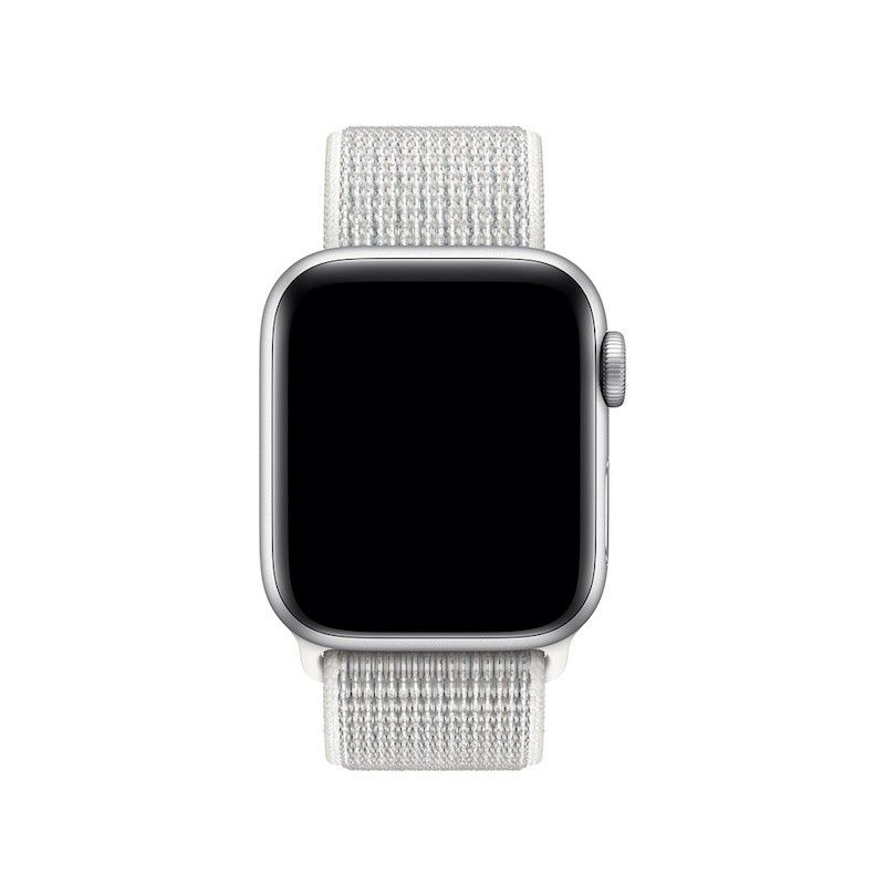 Bracelete Loop desportiva Nike para Apple Watch (40/38 mm) - Branco-Cume