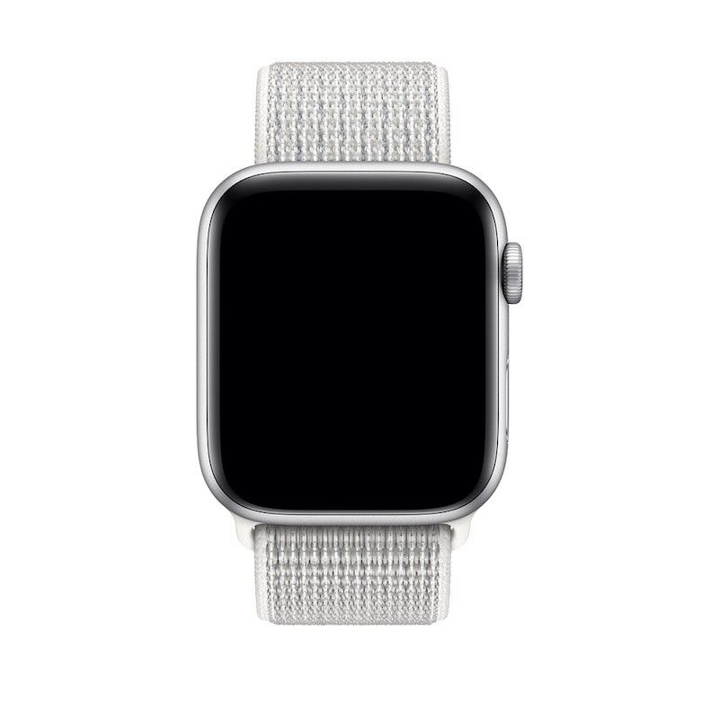 Bracelete Loop desportiva Nike para Apple Watch (44/42 mm) -Branco-Cume