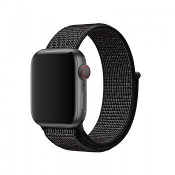 Bracelete Loop desportiva Nike para Apple Watch (40/38 mm) - Preto