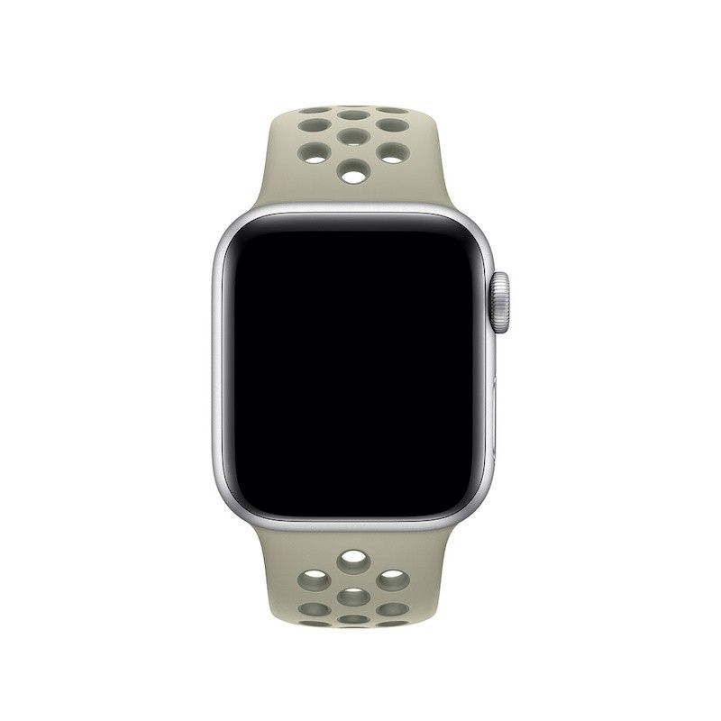 Bracelete desportiva Nike para Apple Watch (40/38 mm) - Névoa de Abeto/Líquen Vintage