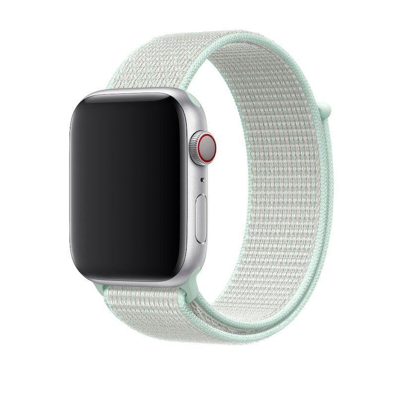 Bracelete Loop desportiva Nike para Apple Watch (44/42 mm) - Verde Pálido