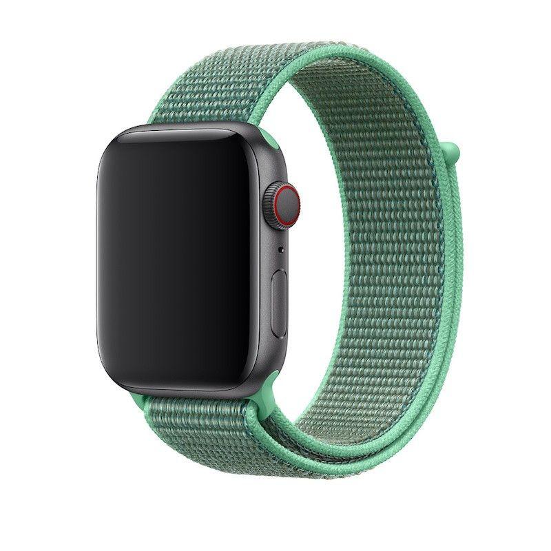 Bracelete Loop desportiva para Apple Watch (44/42 mm) - Hortelã
