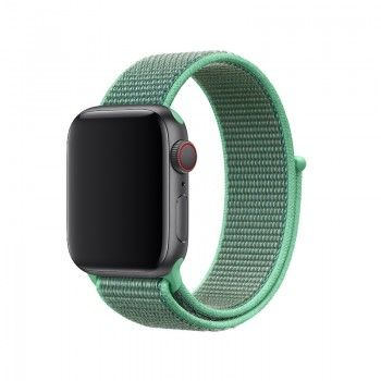 Bracelete Loop desportiva para Apple Watch (40/38 mm) - Hortelã