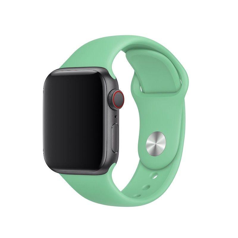 Bracelete desportiva para Apple Watch (40/38 mm) - Hortelã