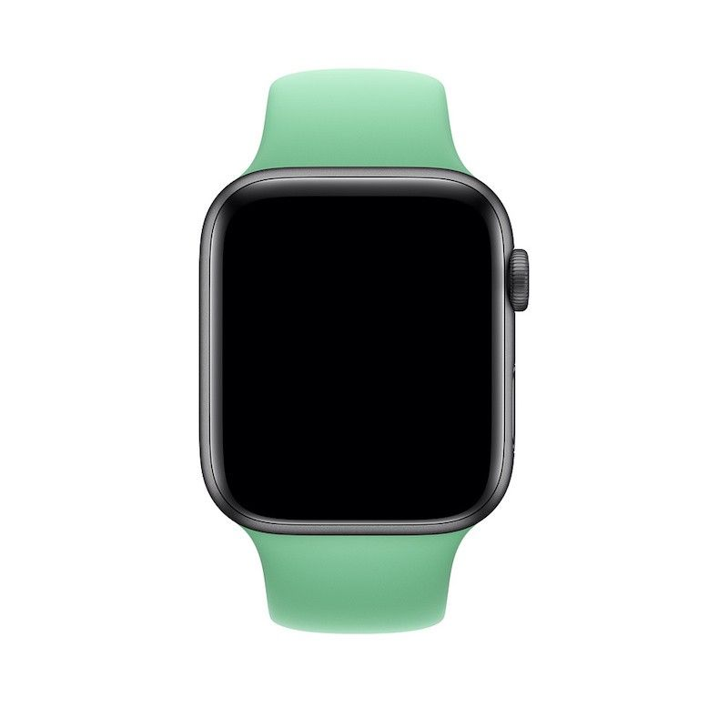 Bracelete desportiva para Apple Watch (44/42 mm) - Hortelã