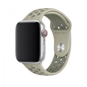 Bracelete desportiva Nike para Apple Watch (44/42 mm) - Névoa de Abeto/Líquen Vintage