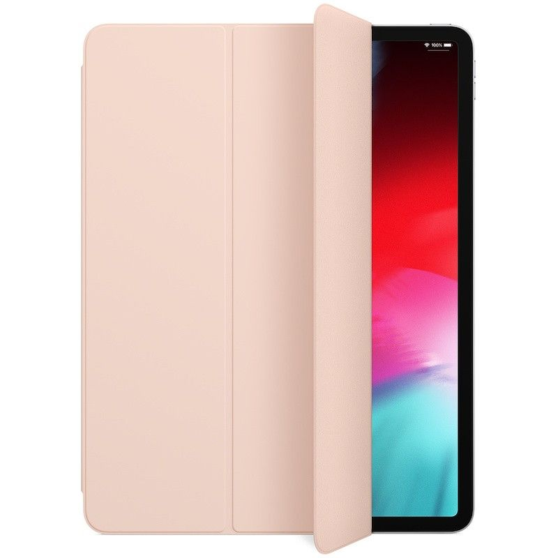 Capa Smart Folio para iPad Pro de 12,9 polegadas (3.ª gen) - Rosa-areia