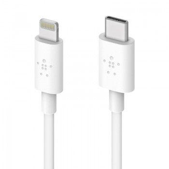 Cabo Lightning - USB-C Belkin Mixit (1,2 m) - Branco