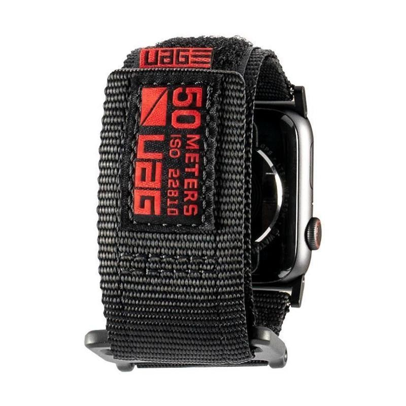 Bracelete para Apple Watch UAG Active, 44/42mm - Preto