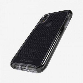 Capa Tech21 Evo Check para iPhone XR - preto