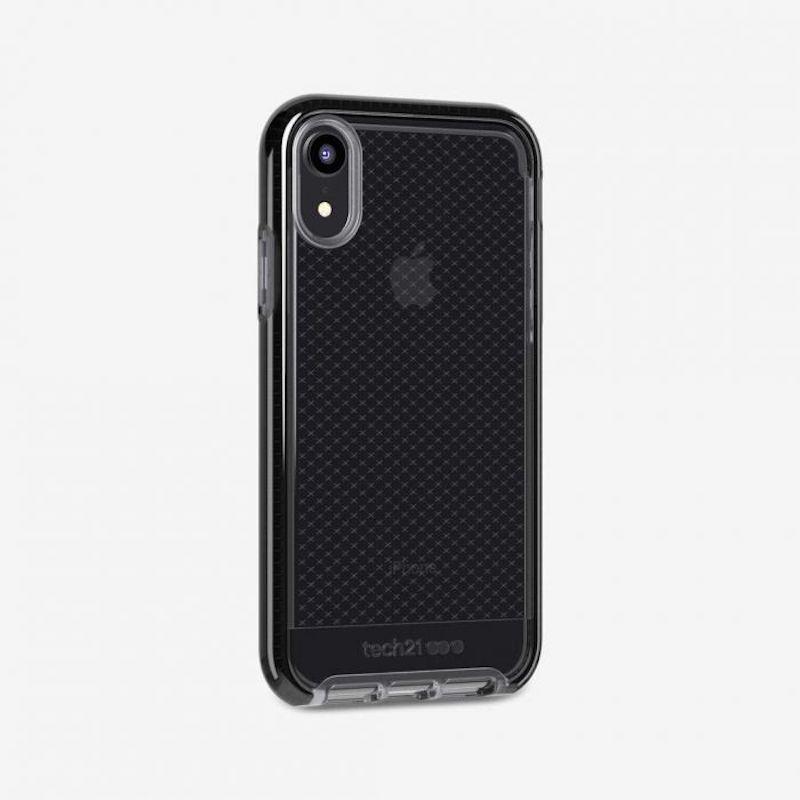 Capa Tech21 Evo Check para iPhone XR - preto