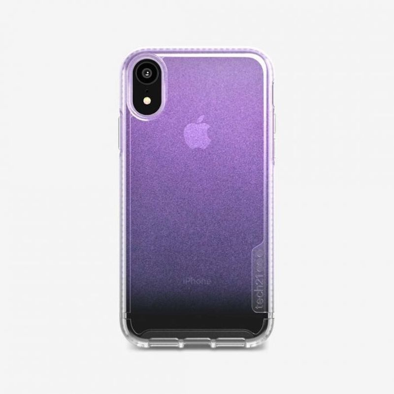 Capa Tech21 Pure Shimmer para iPhone XR - Rosa
